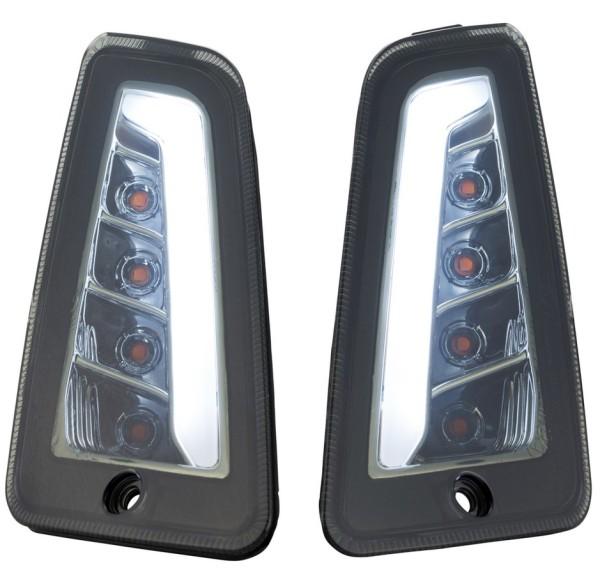 Blinker Kit vorne links/rechts für Vespa GTS/GTS Super/GTV/GT 60/GT/GT L ('03-'13), getönt