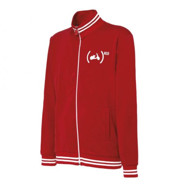 Vespa Sweat Shirt Jacke 946 (RED)