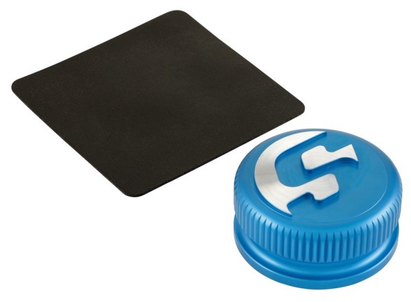 Tankdeckel für Vespa, blau matt