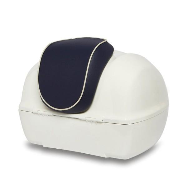 Original Rückenlehne für Vespa Primavera Topcase - Yacht Club Edition Blau
