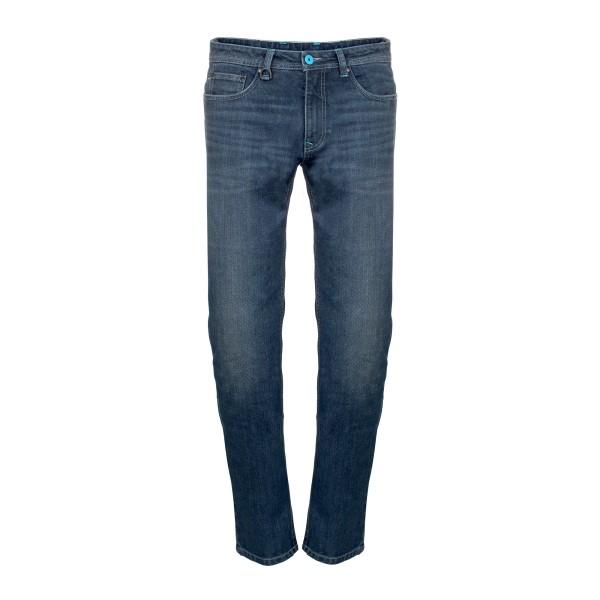 Vespa Hose Polyester-Denim blau