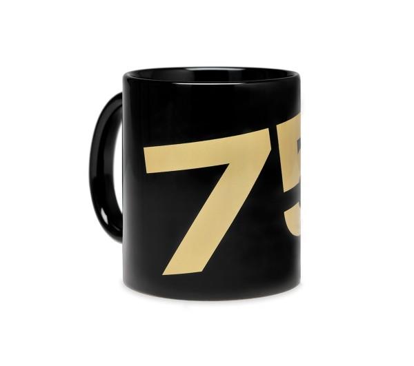 Vespa Tasse 75 Jahre - schwarz