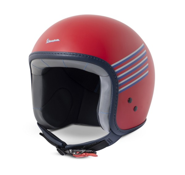 Vespa Graphic Helm rot