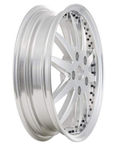 Felge Sport vorne/hinten für Vespa GTS/GTS Super/GTV/GT 60/GT/GT L/946 125-300ccm, silber