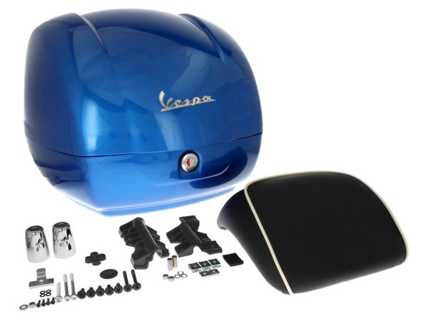 Original Topcase für Vespa GTS - blau 261/A (ab 2014)