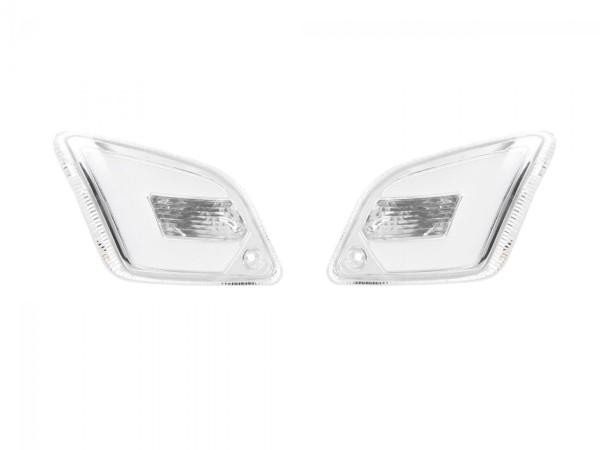 LED Blinkersatz hinten, klar für Vespa GT, GTL, GTV, GTS 125-300