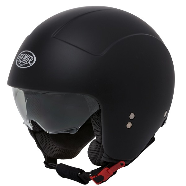 Premier Rocker Helm matt-schwarz/Dekor