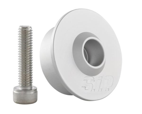 Montage Kit für Lenkerendenspiegel ohne Lenkerendengewichte, MK II, silber