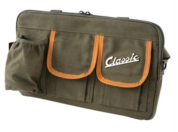 """Tasche """"Classic"""" für Gepäckfach/Handschuhfach Vespa - olive, Canvas"""