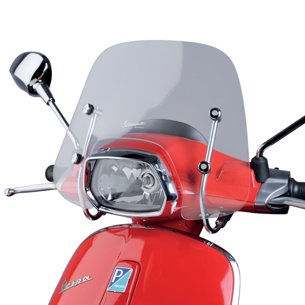 Windschild Cruiser Vespa Sprint - klar