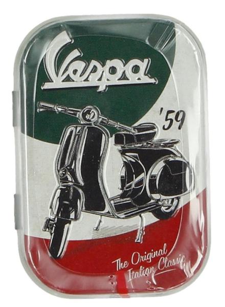 Vespa Pillendose The Italian Classic, Blech
