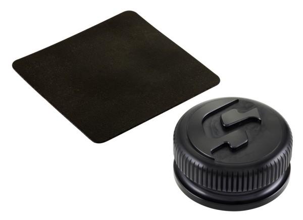 Tankdeckel für Vespa, schwarz matt