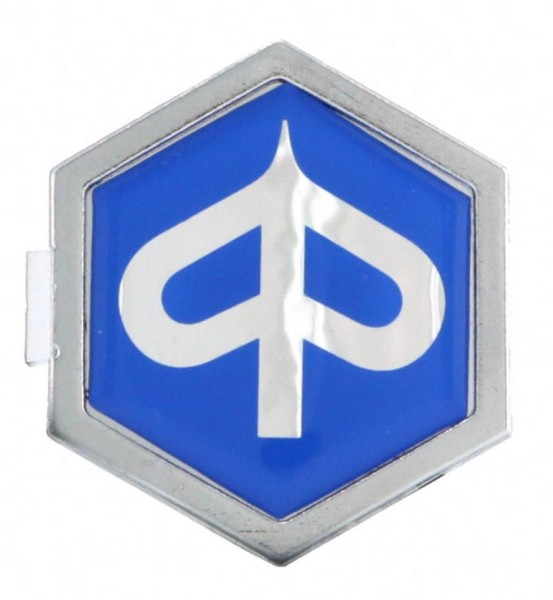 "Emblem ""PIAGGIO"" Kaskade, blau"