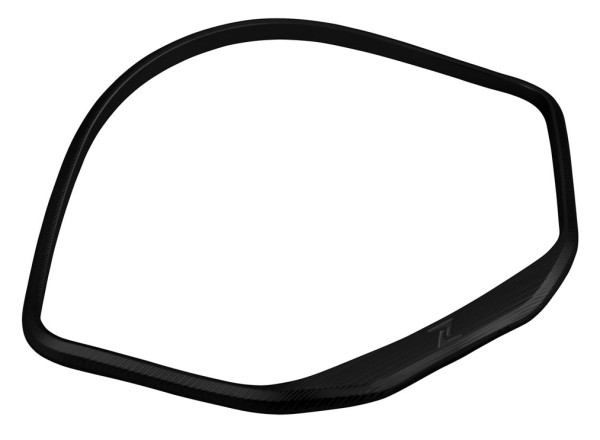 Zierring Tachometer für Vespa GTS/GTS Super/GT/GT L 125-300ccm (-'13), schwarz