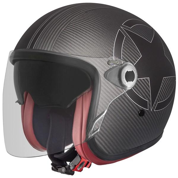 Premier Vangarde Helm Star Carbon matt