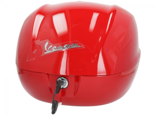 Original Topcase für Vespa Primavera / Sprint - Rot Dragon 894