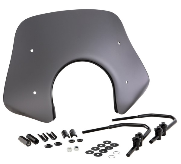 Flyscreen Piccolo für Vespa GTS/GTS Super/GT/GT L 125-300ccm, schwarz matt