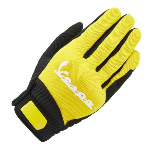 Vespa Handschuhe Color Textil gelb