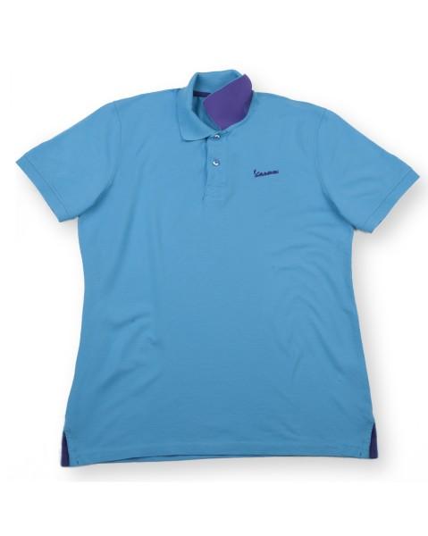 "Vespa Polo Shirt ""Vespa Logo"" Herren blau"