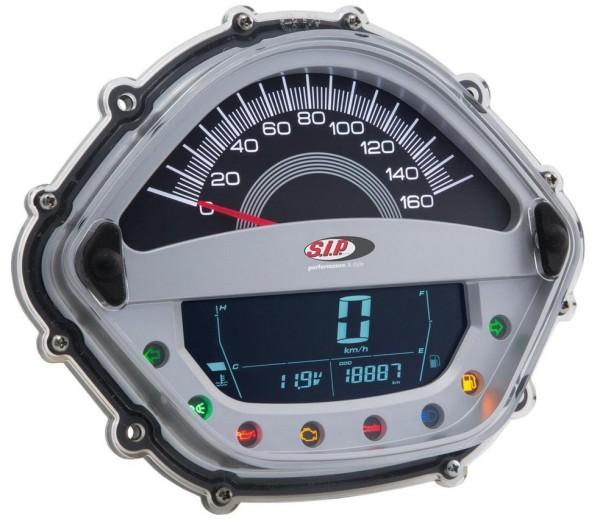 Drehzahlmesser/Tacho für Vespa GT/GT L 125/200ccm/ GTS 125ccm, silber