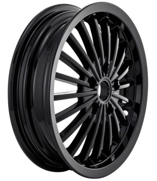 Felge vorne/hinten für Vespa GTS/GTS Super/GTV/GT 60/GT/GT L 125-300ccm, schwarz glänzend