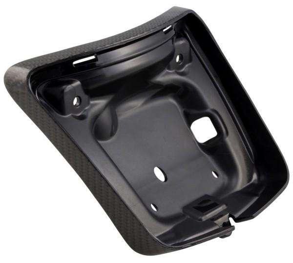 Rahmen Rücklicht für Vespa GTS/GTS Super/GTV 125-300ccm ('14-'18), carbon ummantelt