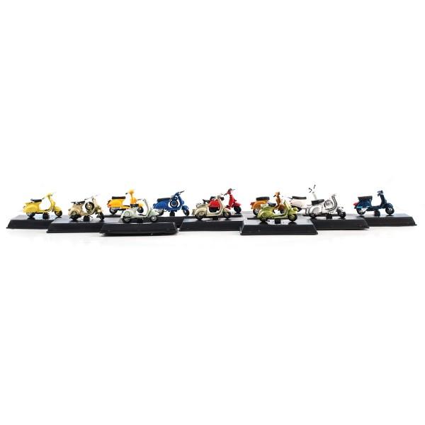 Vespa Fahrzeugmodelle 1:32 Set 24 Stück