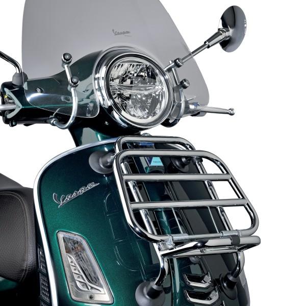 Front Klapp-Gepäckträger Chrom für Vespa GTS original Vespa