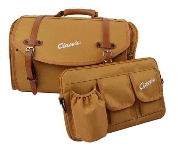 Taschenset Classic für Vespa, braun