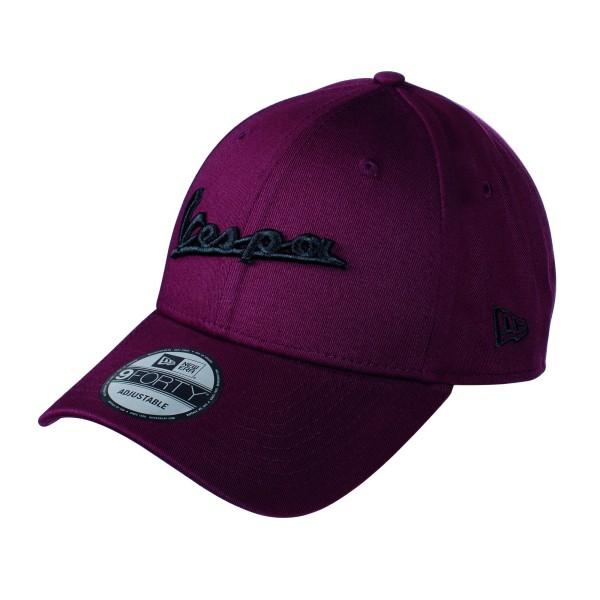 Vespa Base Cap ESSENTIAL 9FORTY® dunkelrot