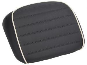 Original Rückenlehne für Topcase schwarz gesteppte Naht (bis 2014) Vespa GTS Super / GTS Super Sport