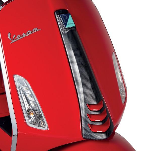 Abdeckung Frontschild (Kaskade) im Carbon-look für Vespa Sprint