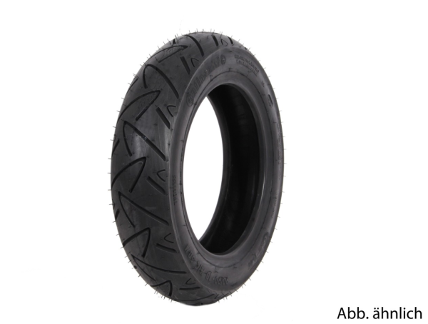 Continental Reifen 100/80-10, 58M, TL/TT, Twist, vorne/hinten