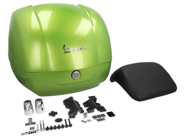 Original Topcase für Vespa GTS - grün / gem green / hope green 341/A