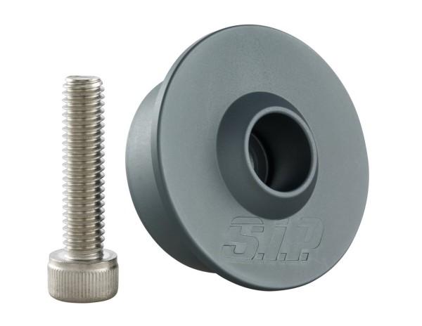 Montage Kit für Lenkerendenspiegel ohne Lenkerendengewichte, MK II, grau
