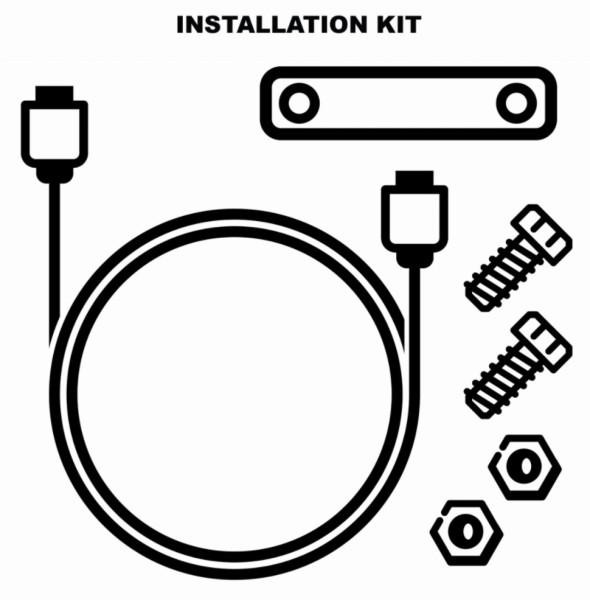 Installationskit für elektronische Diebstahlsicherung (1D002554)