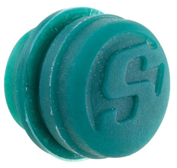 Abdeckkappe für Lenkerendengewichte, grün