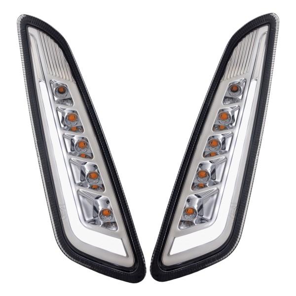 Blinker Kit vorne links / rechts LED getönt für Vespa Primavera / Sprint 125-150ccm SIP Style