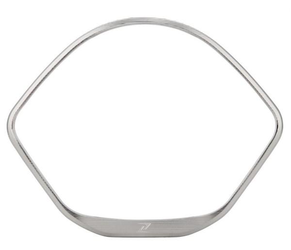 Zierring Tachometer für Vespa GTS/GTS Super/GT/GT L 125-300ccm (-'13), silber