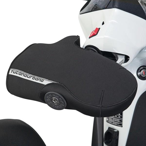 Lenkerstulpen, für Vespa GT / Vespa GTS, mit Schutzbügel, schwarz Tucano Urbano