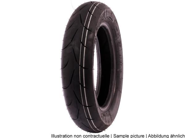 Mitas Reifen 120/70-12, 51P, TL, MC34, vorne