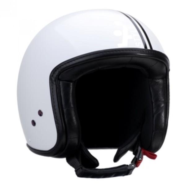A-STYLE Jethelm, Intercity, ABS, schwarz, weiß, glänzend