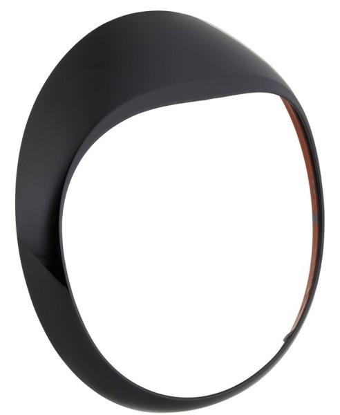 Lampenring für Vespa GTS/GTS Super/GT/GT L 125-300ccm, schwarz glänzend