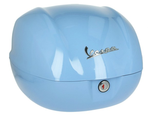 Original Topcase für Vespa Primavera azurro incanto / provence light blue / charm light blue / 279/A