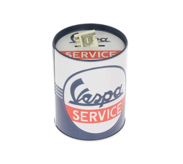Vespa Spardose Vespa Service, Blech