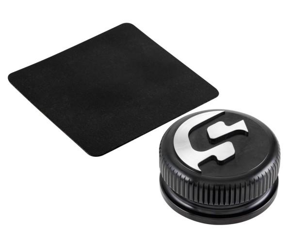 Tankdeckel für Vespa, schwarz