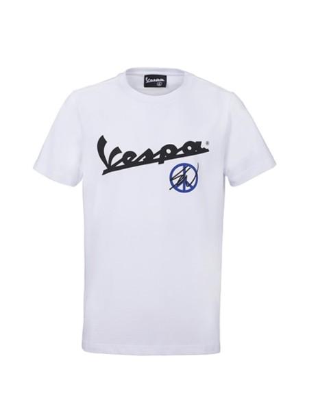 Sean Wotherspoon - Vespa T-Shirt weiß
