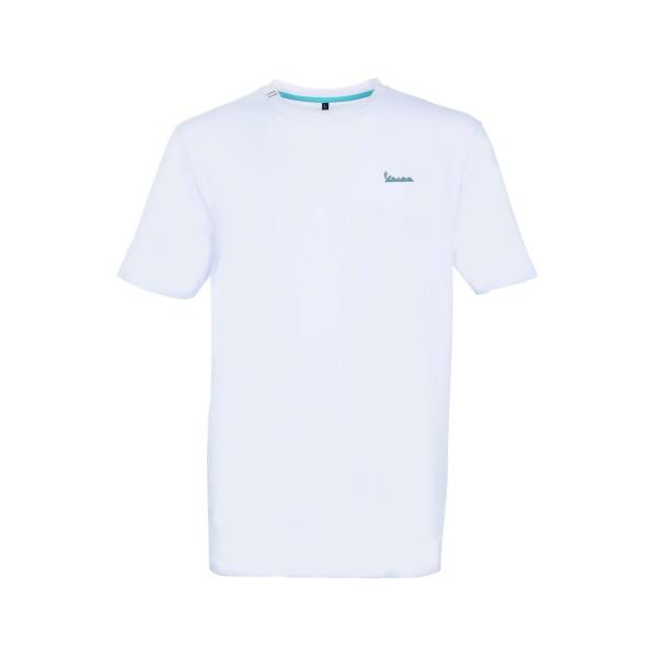 Vespa T-Shirt Graphic Herren weiss