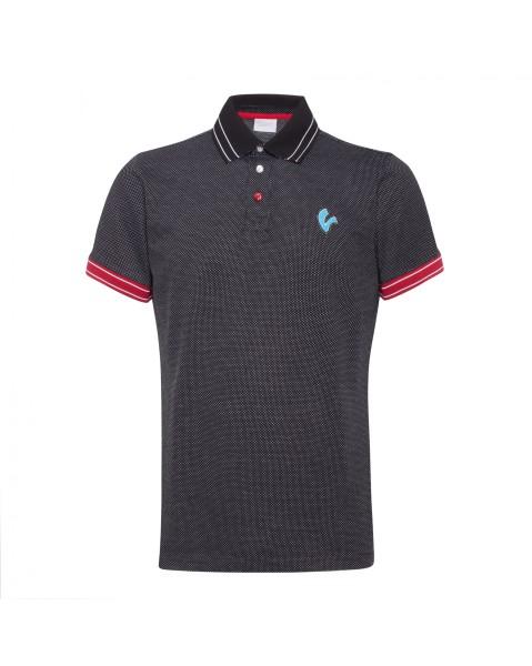 Vespa Polo Shirt V-Stripes Herren