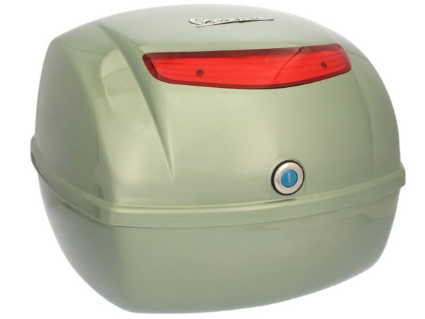 Original Topcase für Vespa LX / S / LXV - grün portofino 305/A
